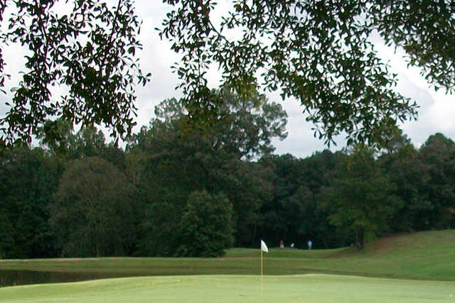 A view of a hole at Waterford Golf Club