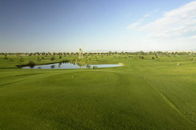 A view of the 6th tee at Robin Hood Course from Falcon Crest Golf Club
