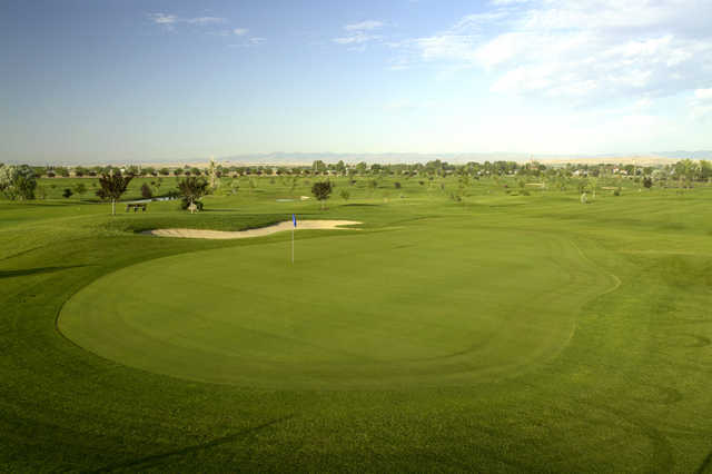 A view of a hole at Robin Hood Course from Falcon Crest Golf Club