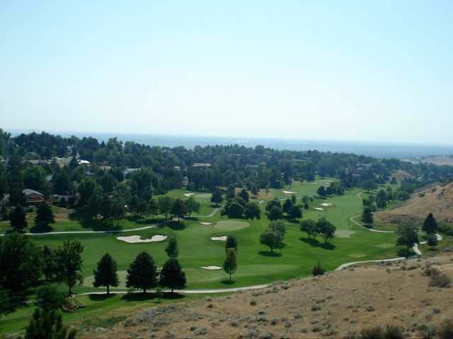 A view from Crane Creek Country Club