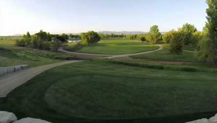 A view from Boise Ranch Golf Course