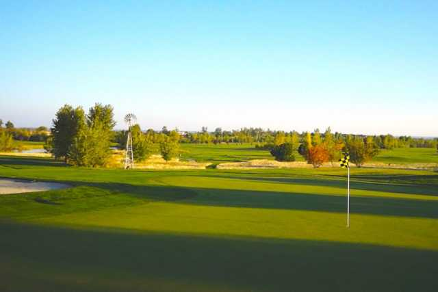A view of a hole at River Birch Golf Course