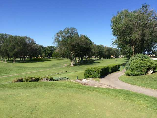 A view from a tee at Broadmore Country Club