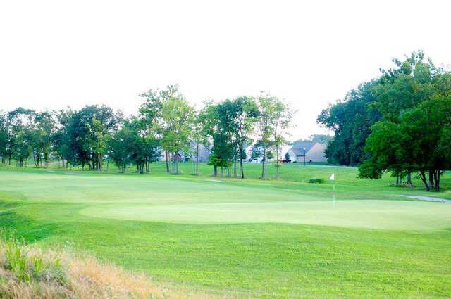 A view of a hole at Southern Dunes Golf Course