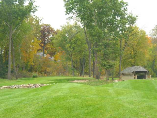 A fall view from River Glen Country Club