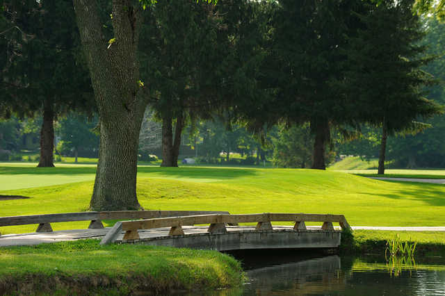 A view over a bridge at Ulen Country Club