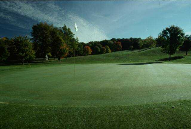 View of the 9th hole at Arcadia Hills Golf Course