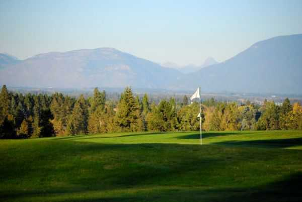 View of a green at Buffalo Hill Golf Club