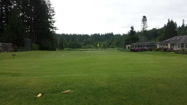 View of a green at Scott Lake Golf Course
