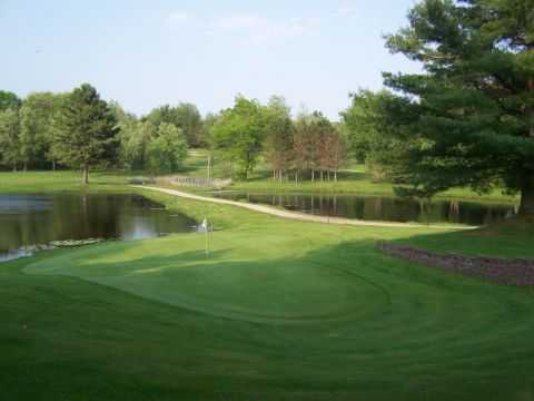 View of a green at Tamaracks Golf Course