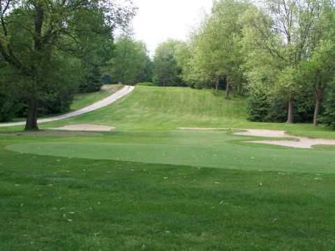View of a green and fairway at Tamaracks Golf Course