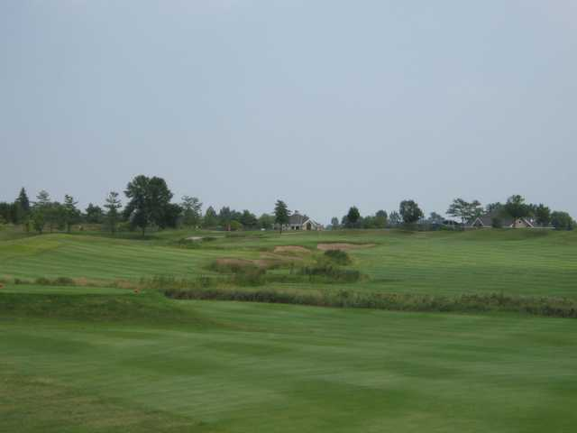 A view from a tee at Green Garden Country Club