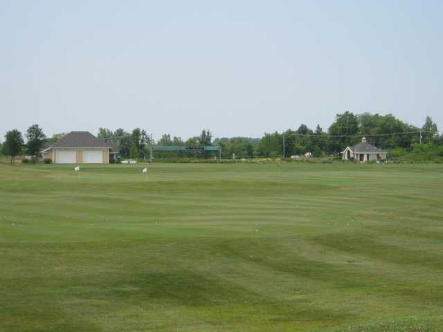 A view of the practice area at Green Garden Country Club