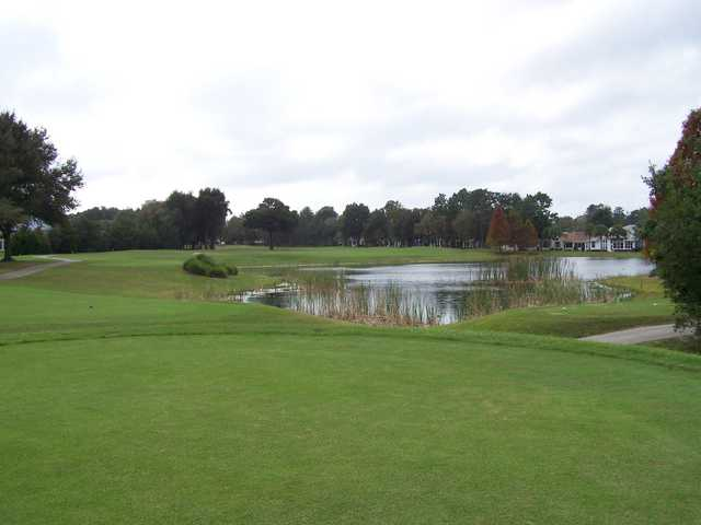 A view from a tee at Royal Oaks Golf Club