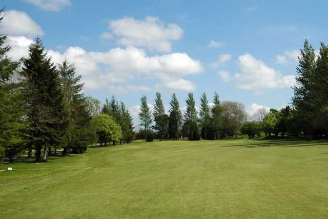 A view from the 13th fairway at Ballyclare Golf Club