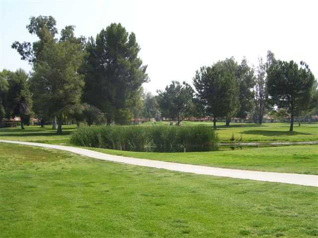 A view of a cart path from Seven Hills Golf Club