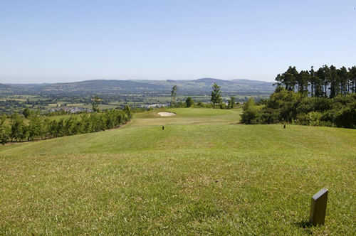 A view from a tee at Carrick-on-Suir Golf Club