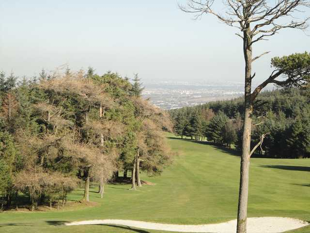 A view of a fairway at Slade Valley Golf Club