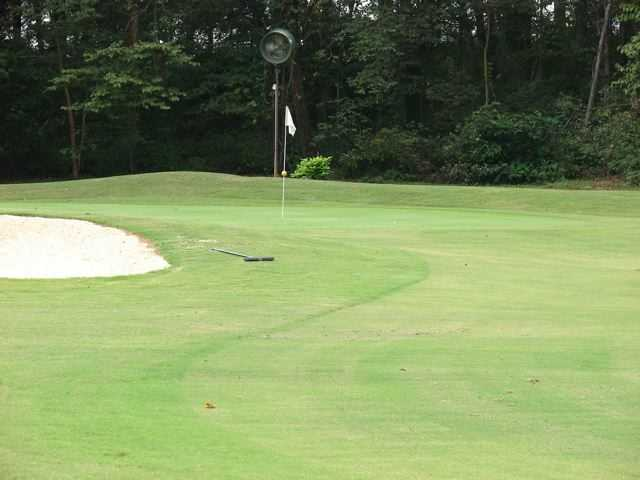 A view of a hole at Plantation Course from Goose Pond Colony Resort