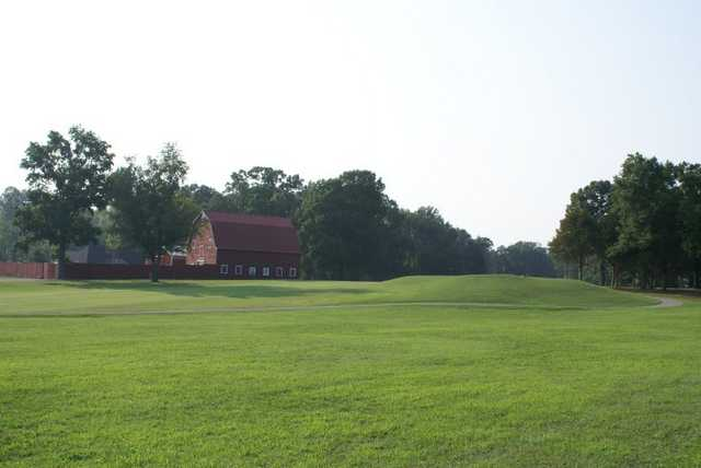 View of the 17th fairway at Mill Quarter Plantation Country Club
