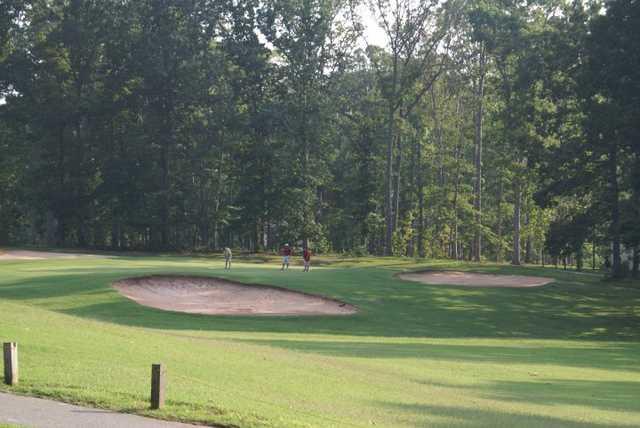 16th green at Mill Quarter Plantation Country Club
