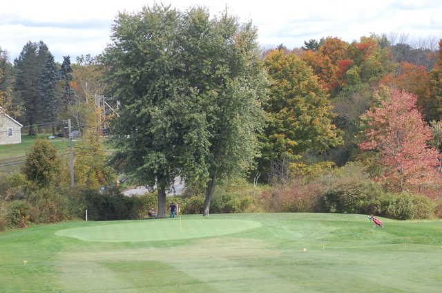 A view of the 4th hole at Dudley Hill Golf Club
