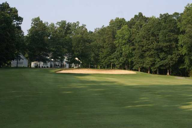View of the 15th green at Mill Quarter Plantation Country Club