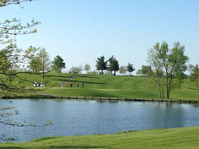 A view over the water from Bright Leaf Golf Resort
