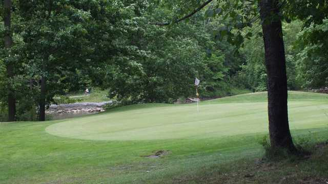 A view of a green at Par 3 from Brandywine Country Club
