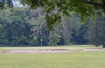 A view of a green at Brendonwood Golf Course