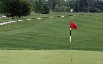 View from Dakota Landing Golf Club