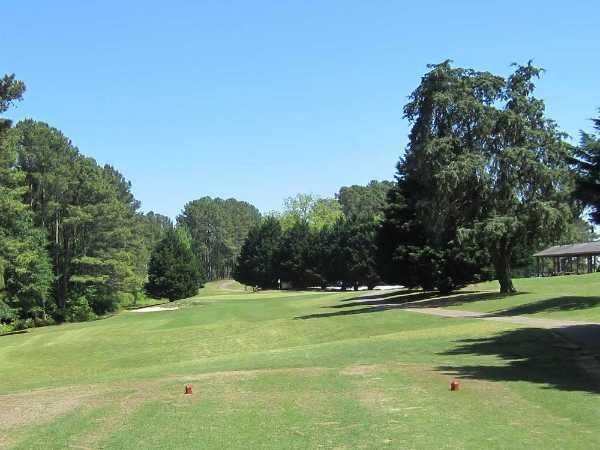 A view from tee #6 at Oconee Country Club