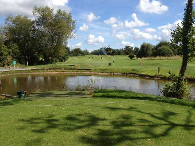 A view from a tee at Billingbear Park Golf Club