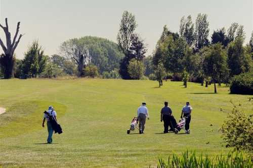 A view of a fairway at Billingbear Park Golf Club
