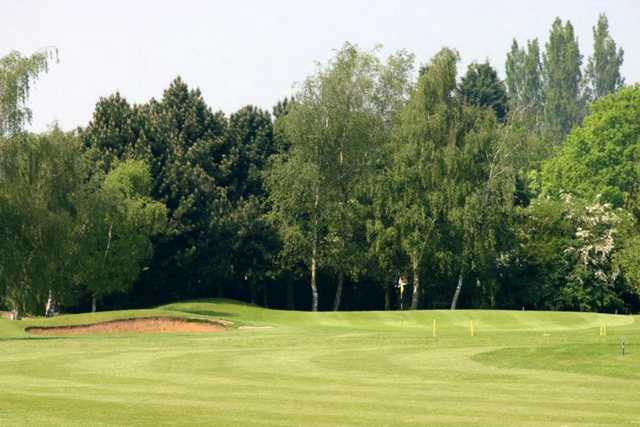 A view of the 17th hole at Weston Turville Golf Club