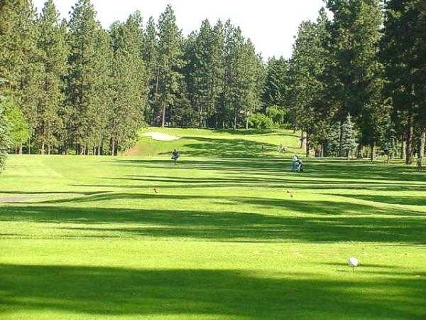A view from tee #3 at Coeur D'Alene Golf Club