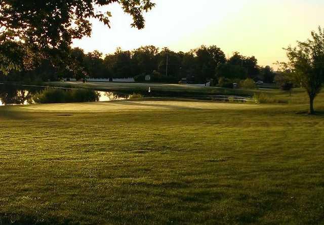 A view of a green at Vista Verde Golf Club