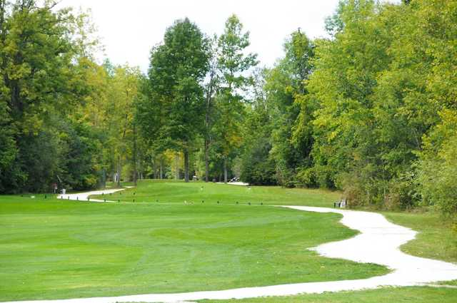A view from Perth Golf Course