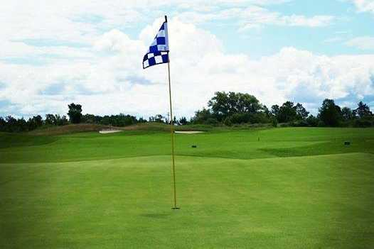 A view of a hole at Charlevoix Golf & Country Club