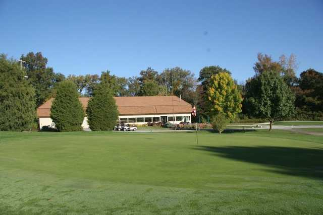 A view of a hole at Indian Lake Country Club