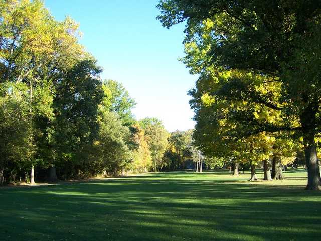 A view of a fairway at Indian Lake Country Club