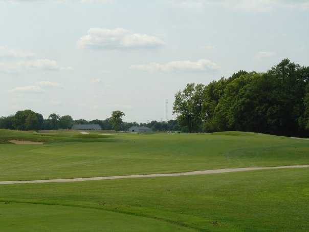 A view from tee #13 at Twin Bridges Golf Club.