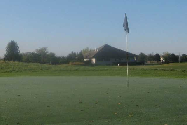 A view of hole #1 at The Par-3 Course from Stony Creek Golf Club
