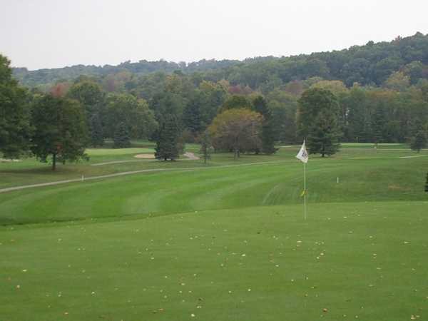 A view of hole #7 at Martinsville Country Club