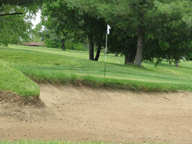 A view of a hole at Gay Brewer Jr. Course at Picadome