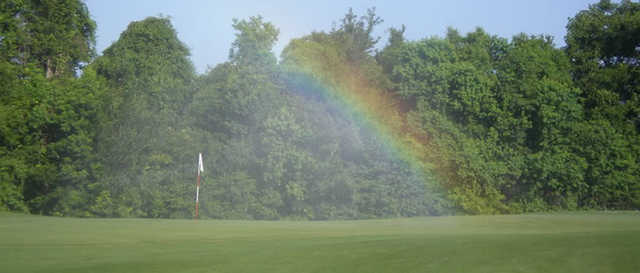 A view from Les Vieux Chenes Golf Course