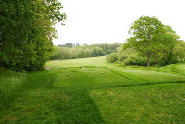 A view from tee #2 at Braintree Golf Course