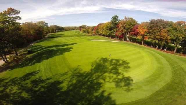 A view of hole #7 at Braintree Golf Course