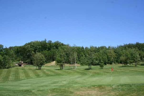 A view of a green from Par-3 Course at Atkinson Resort & Country Club
