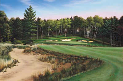 View of the 12th fairway at Grand View Lodge - Deacon's Lodge